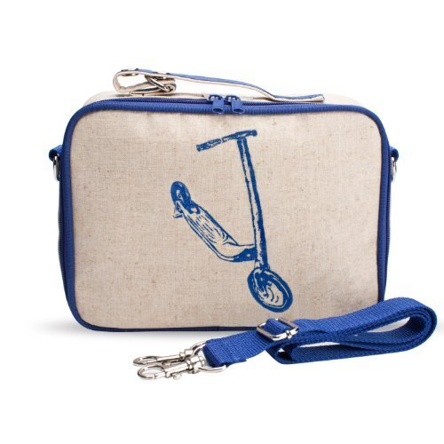 SoYoung Blue Kickscooter Insulated Lunch Box by SoYoung