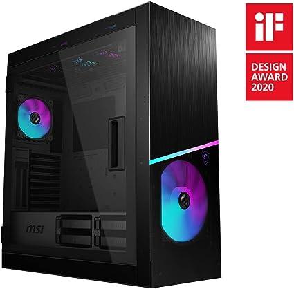 MSI MPG SEKIRA 500X Mid-Tower ARGB Caja de PC Gaming (Negro, 3 x 200 mm
