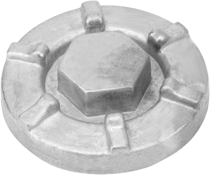 Qii lu 4HC-15351-00-00 Engine Oil Drain Plug Cover for Yamaha BigBear Kodiak Grizzly Rhino