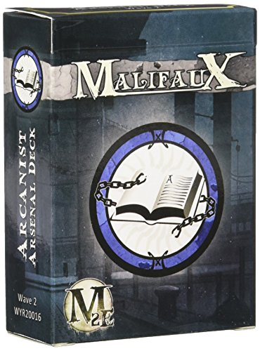 Wyrd Miniatures Malifaux Arsenal Deck Arcanists Wave Model Kit (2 Pack)