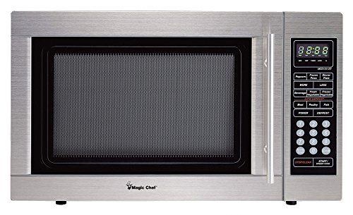 Magic Chef MCD1311ST 1.3cf 1000W S-Steel Microwave by Magic Chef