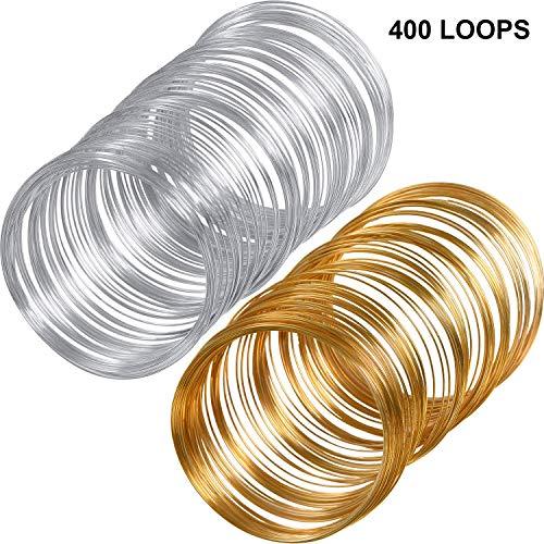 Memory Wire Bracelet - Loop Jewelry Wire Beading Wire Bracelet