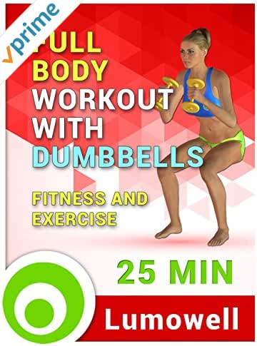 Full Body Workout with Dumbbells - Fitness and Exercise