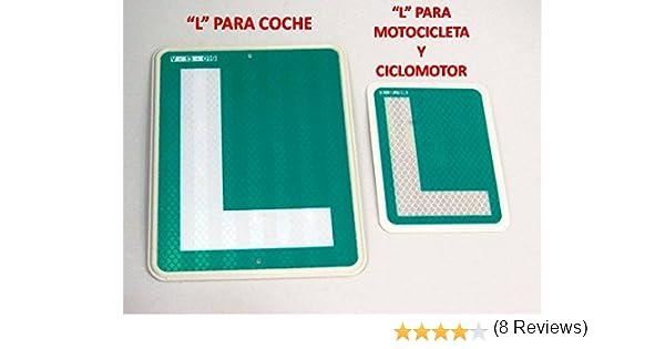 L Conductor Novel para Moto CICLOMOTOR HOMOLOGADA V-13-019