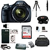 Sony Cyber-shot DSC-H400 Digital Camera with 64GB Deluxe Accessory Bundle