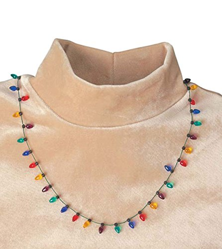 Miles Kimball Christmas Flashing Necklace