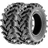 SunF ATV UTV Mud & All Terrain Tires 23x8-11 23x8x11 6 PR A024 (Set pair of 2)