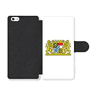 Bavarian Flag Bavaria Coat Of Arms Flagge Bayern Faux Leather case for iPhone 5 5S