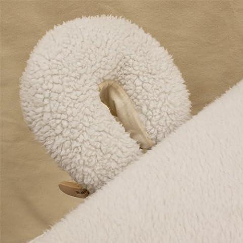 Body Linen Repose Fleece Face Rest Pads - Fleece Face Cradle Cover
