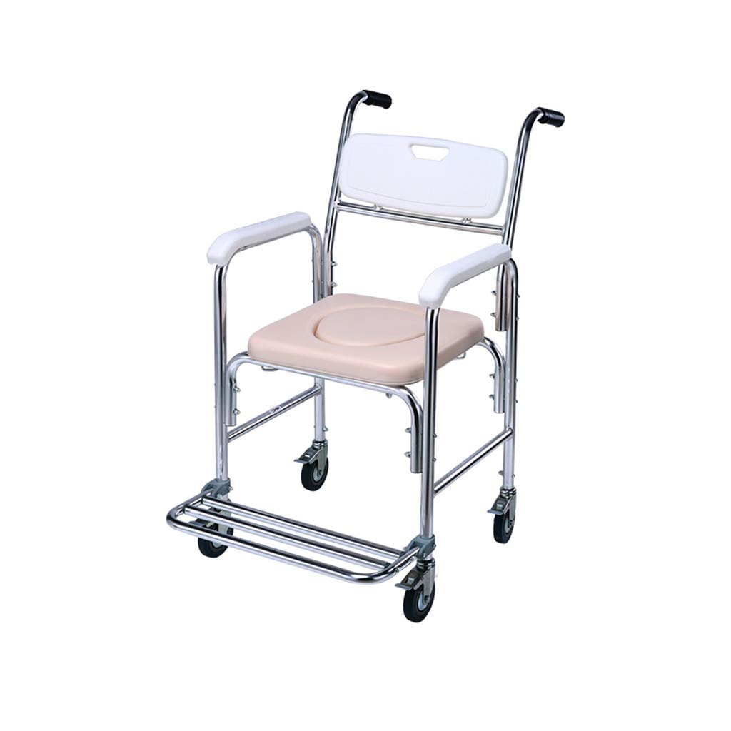 XXHDEE Multifunctional with Toilet Seat Disabled Toilet Elderly Wheelchair Walking aids by XXHDEE