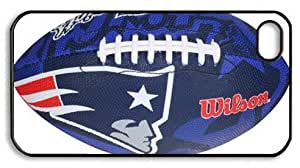 icasepersonalized Personalized Protective Case For HTC One M7 Cover NFL New England Patriots, American Football
