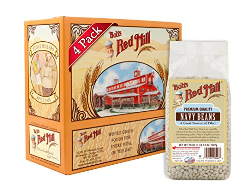 Navy Beans - Bob's Red Mill Navy Beans, 29 Ounce (Pack of 4)