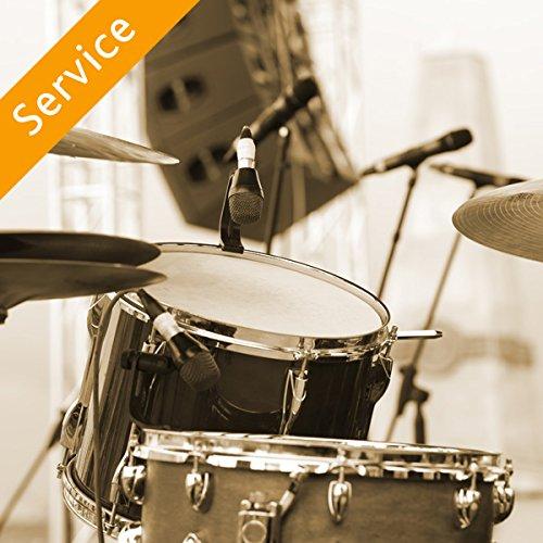 Drum Lesson - One 30-Min Session In Studio (Percussion Lesson)