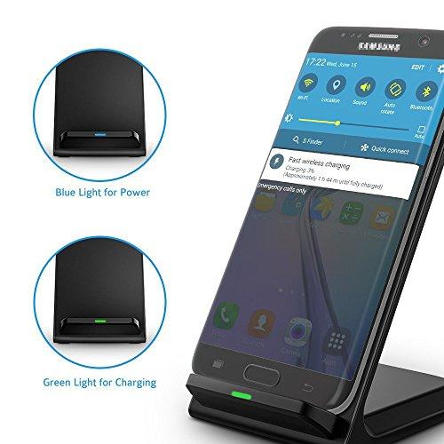 Seneo Pa014 Fast Wireless Charger 2 Coils Qi Wireless