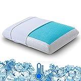 Best Cooling Pillows - Cr Sleep Reversible Memory Foam Gel Pillow Review