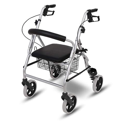 Andadores Ancianos Plegable Andador para Adultos para Mayores de ...