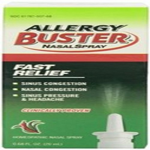 Allergy Buster Nasal Spray - 0.68 oz, Pack of 3 by Allergy Buster