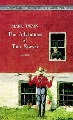 The Adventures of Tom Sawyer (Dover Thrift Editions) cover