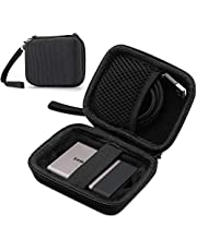 ProCase Carrying Case for Samsung T5 T3 SSD, Compact Hard Shockproof Carry Case for T5 / T3 / T1 Portable SSD 250GB 500GB 1TB 2TB USB 3.1 Type C Hard Drive –Black