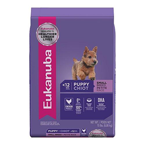 Eukanuba Small Breed Puppy Food, 15 lbs.