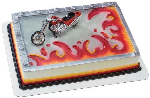 Hot Choppers - Red Hot Chopper DecoSet Cake Decoration