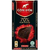 Cote D'or 克特多金象 70%可可黑巧克力--排装100g(比利时进口)