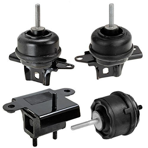 Maxmount 4x Transmission Engine Motor Mounts Replacement A2895 A2896 A2897 A2898 For 05-00 Buick Lesabre/Park Avenue Ultra/Bonneville 3.8 Buick Lesabre Engine