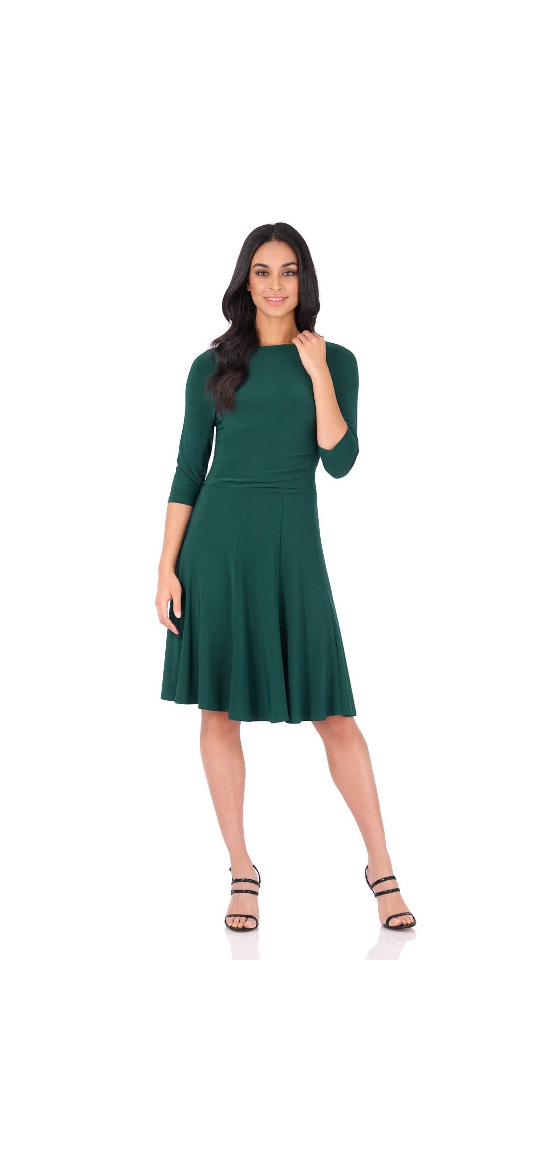 Women's Flippy Fit N' Flare Dress With / Sleeves