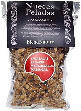 Nueces Peladas Naturales Crudas y Mondadas 500gr - Frutos Secos Saludables Alto contenido Omega 3 - Envase al vacío más Sabrosas más Sabor - Excelente ...