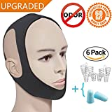 Anti Snore Snoring Chin Strap Straps,Cpap Chin Strap,Chin Straps for Cpap,Snore Strap Straps,Anti-Snoring Chin Strap for Snoring,Stop Snoring Chin Strap