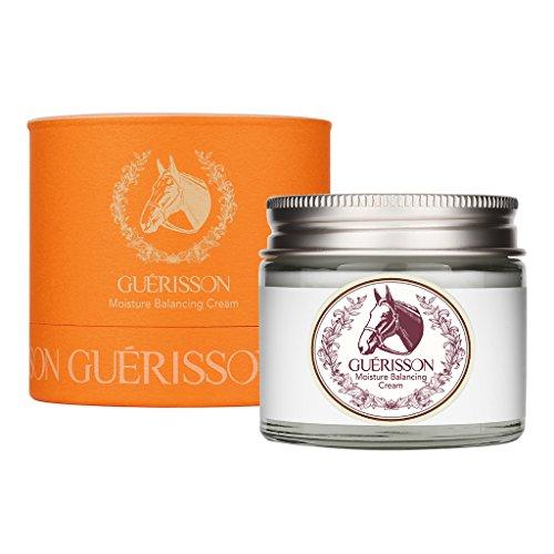 (GUERISSON Moisture Balancing Cream 2.5oz (70g) - Horse Oil Rejuvenating & Lifting Skincare, No Irritation Hypoallergenic Fresh Lightweight Texture Cream, Controlling Oil and Moisture Balance of Skin)