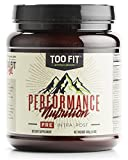 Too Fit Pre - Caffeine and Sugar-Free Natural Pre Workout - BlackBerry Lemonade, 20 Servings