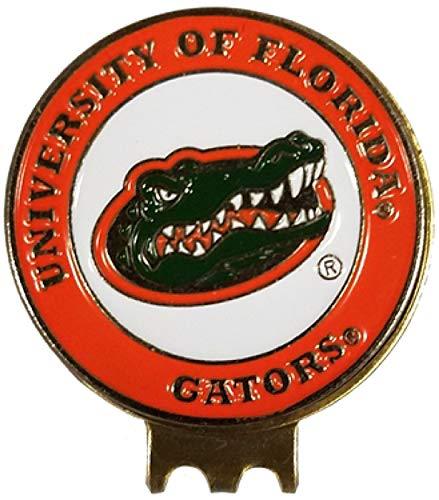 フロリダゲーターズ ゴルフボールマーカー 帽子クリップ付き ギフトに最適 アイデアSEC スワンプUF   B07JM4528K