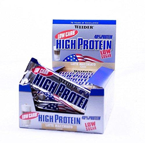 Weider 40% HIGH Protein Bar ( 30 x 50g kleine Riegel Box) BIG BOX - MIX BOX