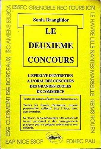 L épreuve d entretien à l oral des concours des grandes écoles de commerce   9782729888053  Amazon.com  Books f0af0bb768ab