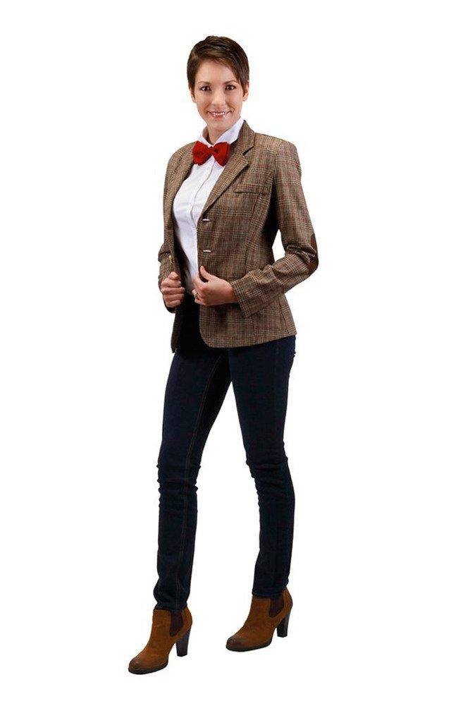 Plus Size Eleventh Doctor Women's Jacket - PL