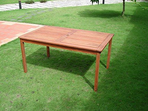 rectangular wood dining table - 2