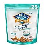 roasted almonds blue diamond - Blue Diamond Oven Roasted Almonds, Sea Salt, 25 Ounce