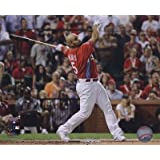 Albert Pujols 2009 Home Run Derby Action - 10x8 Inches - Art Print Poster