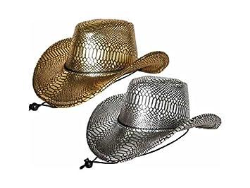 JUGUETILANDIA Sombrero Vaquero Lady Serpiente 2 Surtidos