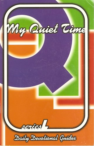 My Quiet Time: Daily Devotional Guides (Series L)
