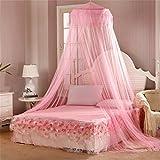 Academyus Elegent Princess Mesh Bed Netting Canopy Round...