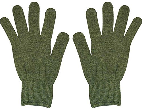 Olive Drab Genuine GI Polypropylene Military Stretch Thin Glove Liners