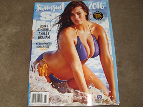 ASHLEY GRAHAM COVER-SPORTS ILLUSTRATED SWIMSUIT PREMIUM EDITION ISSUE 2016--NEWSSTAND EDITION-MINT CONDITION-SHIPS TODAY!