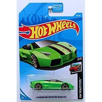 Amazon Com Hot Wheels 2017 Lamborghini Series Lamborghini Aventador