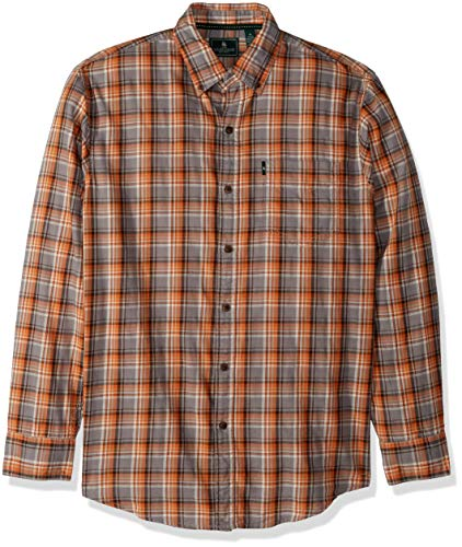 G.H. Bass & Co. Men's Madawaska Trail Long Sleeve Shirt, Rus