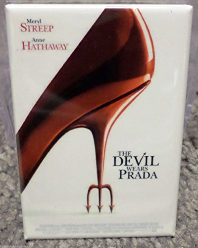 (Devil Wears Prada Movie Poster 2 x 3 Refrigerator Locker MAGNET)