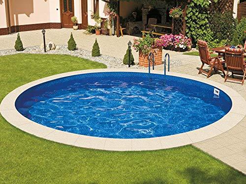 Mountfield AZURO Ibiza V3 - Piscina de Pared de Acero, Redonda ...