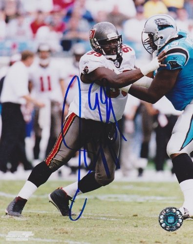 (Warren Sapp Signed - Autographed Tampa Bay Buccaneers - TB Bucs 8x10 inch Photo - Guaranteed to pass PSA or JSA)