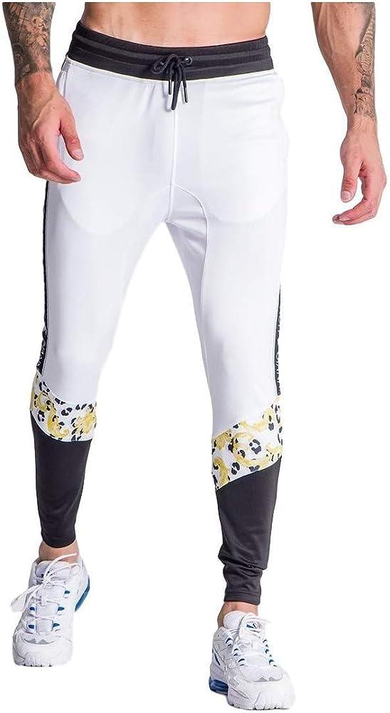 Gianni Kavanagh Pantalon de chandal leopardo barrocos bla: Amazon ...